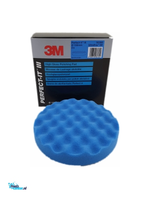 3M Perfect-It Ultrafijne polijst pad Blauw 150MM 50388