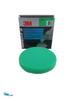 3M Perfect-It Polijstpad 150MM Groen 50487