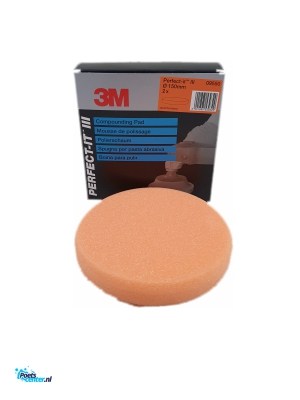 3M Perfect It Polijstpad 150MM Oranje 09550