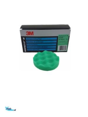 3M Perfect It Polijstpad 75MM Groen 50499