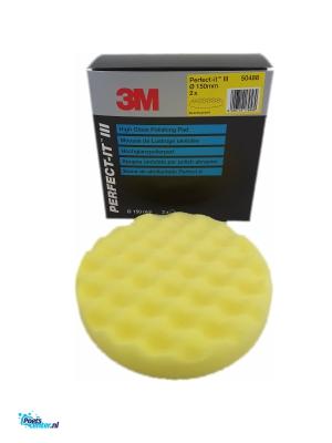 3M Perfect It Polijstpad 150MM geel 50488