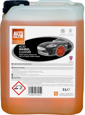 Autoglym Professional Acid Wheel Cleaner 5 Liter