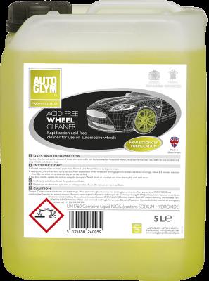 Autoglym Professional Zuurvrije Wielreiniger 5L Acid Free Wheel cleaner