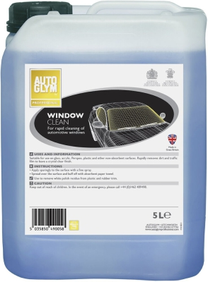 Autoglym Professional Window Clean 5 Liter