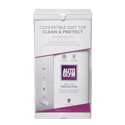 Autoglym Convertible Soft Top Clean & Protect Complete Kit