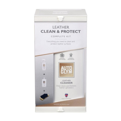 Autoglym Leather Clean en Protect Clean Complete Kit