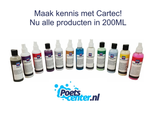 Cartec 200 ML Actie Set