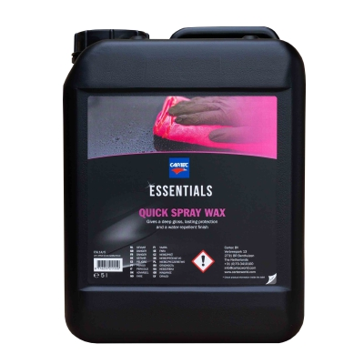 Cartec Quick Spray Wax Essentials 5 Liter