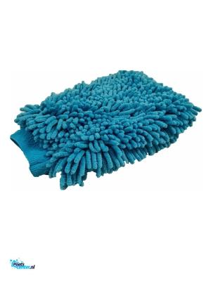 Cartec Washandschoen Microvezel Groot (Blauw)