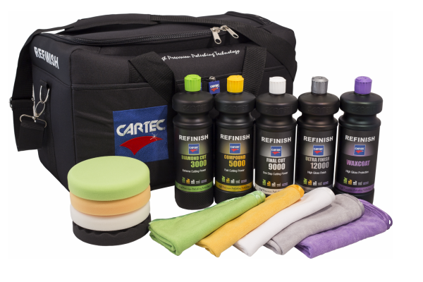Cartec Refinish Bag Startpakket Alle Producten