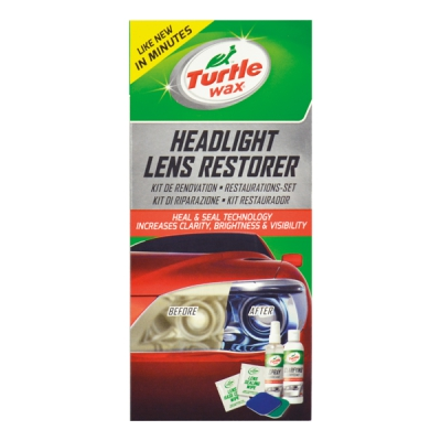 Turtle Wax Headlight Restorer Kit