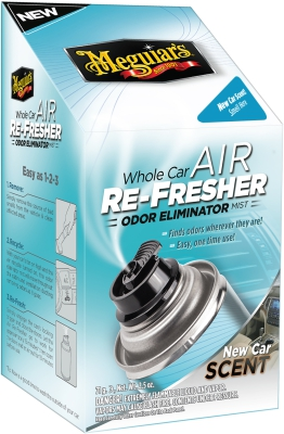 Meguiars Air Re-fresher, New Car Scent 71g