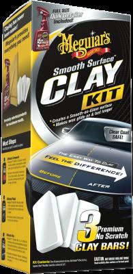 Meguiars Smooth Surface Clay Kit G191700EU