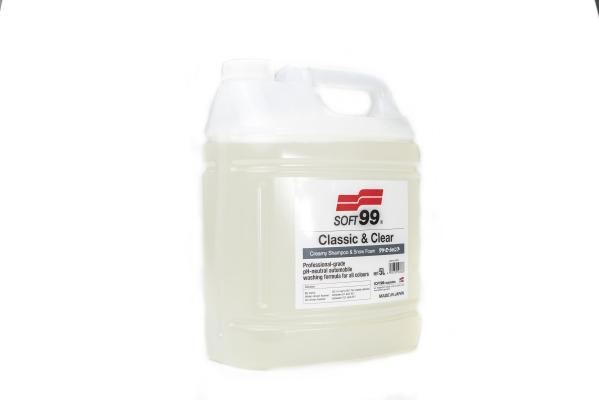 Soft99 Classic & Clear - Creamy Shampoo & Snow Foam