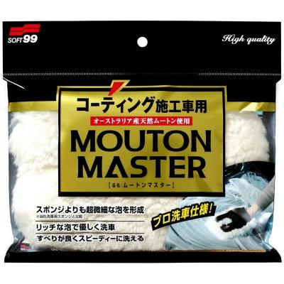 Soft99 Car Wash Glove Mouton Master