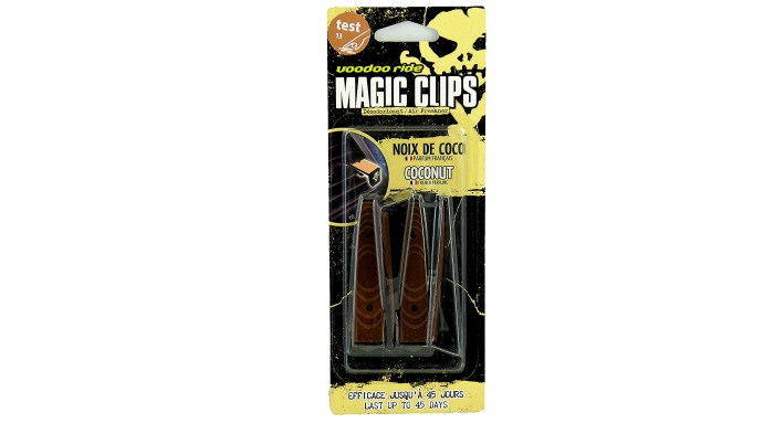 Voodoo Ride magic clips Coconut