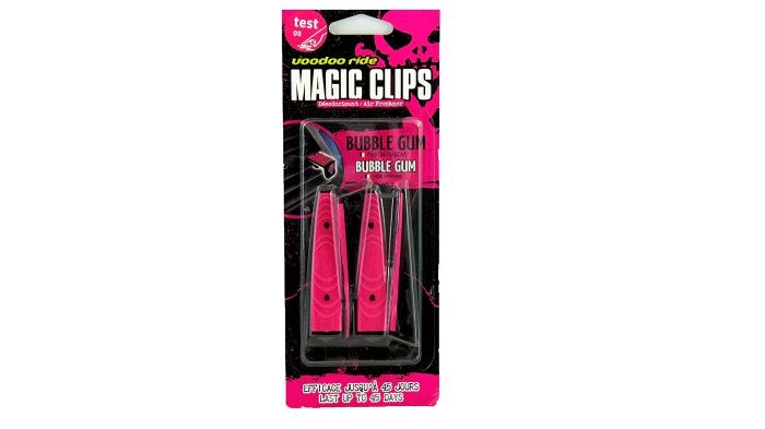 Voodoo Ride magic clips bubblegum