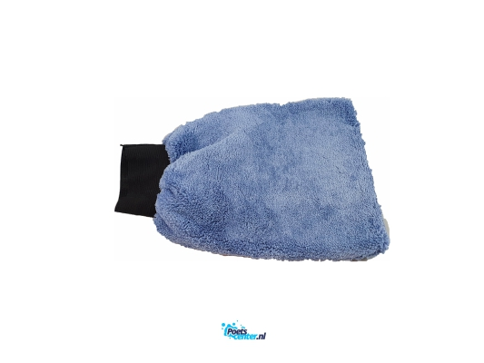 Washandschoen Blauw