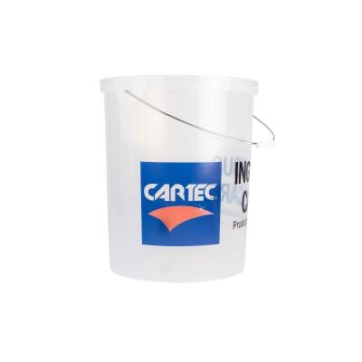 Cartec Emmer 21 Liter Transparant