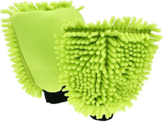Wash Mitt Rasta Groen