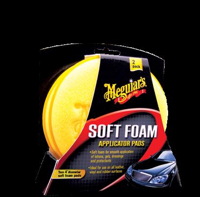 Meguiars Soft Foam Applicator Pads 2 Pack X3070